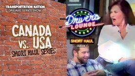 The Drivere's Lounge Short Haul – Canada vs USA