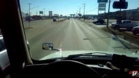 My Trucking Life – CYLCISTS ON THE HIGHWAY?? – #1415