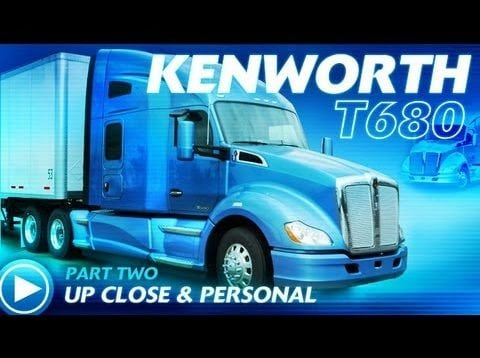 Ultimate Test Drives… 2013 Kenworth T680 Pt 2: Up Close & Personal