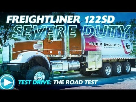 Ultimate Test Drives… Freightliner 122SD: Hitting The Road Outside Napa