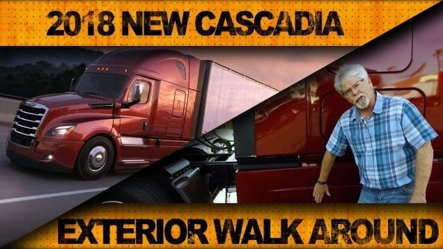 Utimate Test Drives… 2018 New Cascadia: Tour The Exterior
