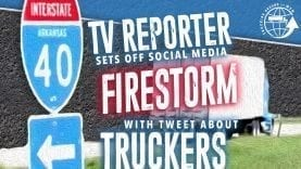 Trucking Around the Web – TV Reporter Firestorm
