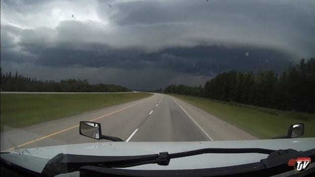 My Trucking Life – THROUGH THE STORM – #1484