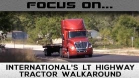 Walkaround International's New LT Highway Tractor