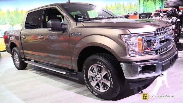 2018 Ford F150 XLT – Exterior and Interior Wakaround – 2018 Detroit Auto Show