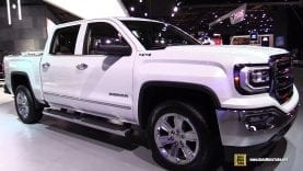 2018 GMC Sierra SLT – Exterior and Interior Walkaround – 2018 Detroit Auto Show