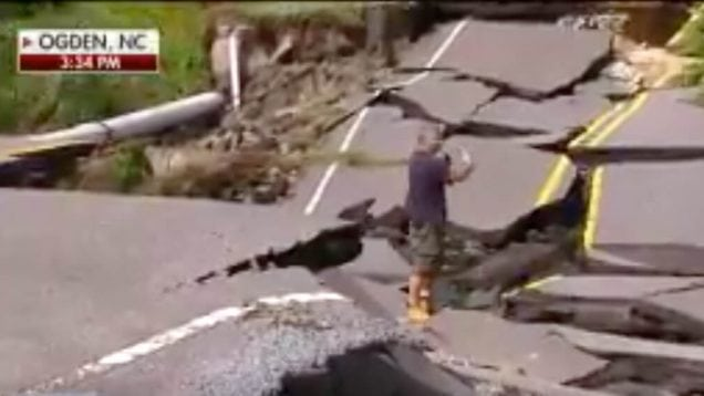 NC Roads after Florence