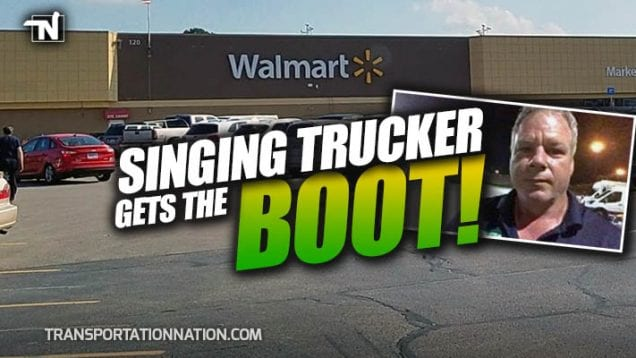 Singing Trucker Brad James Get the Boot At Walmart