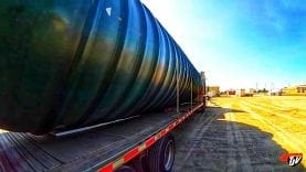 My Trucking Life – DELIVERING A TANK – #1515