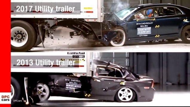 Side Underride Guard Test Shows Life-Saving Potential