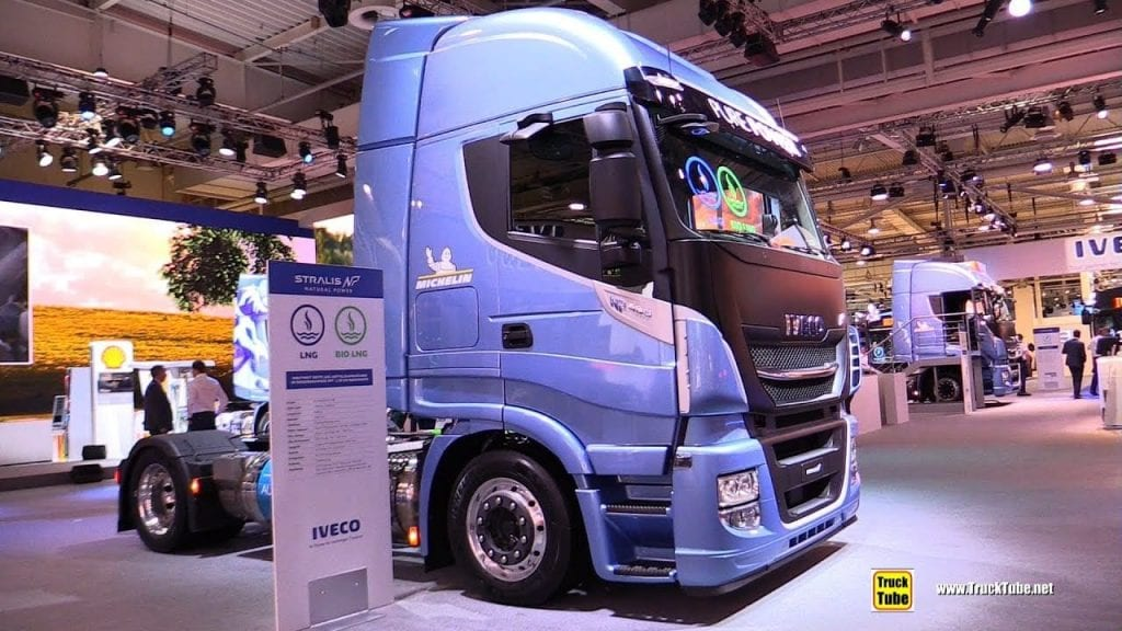 2019 Iveco Stralis NP460 LNG Tractor with 750km Range – Walkaround – 2019 IAA Hannover ...