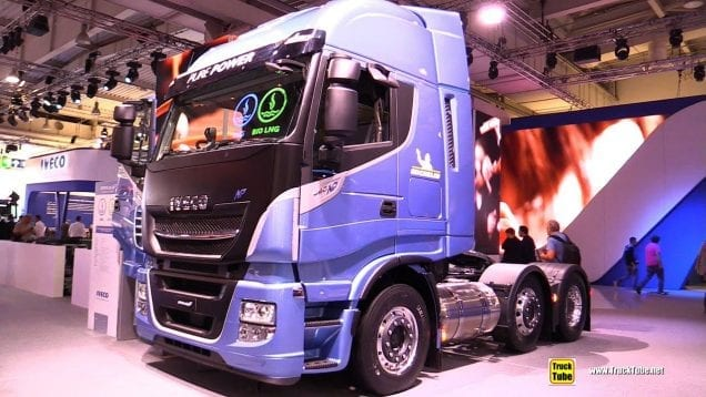 2019 Iveco Stralis NP460 LNG Tractor with 750km Range – Walkaround – 2019 IAA Hannover