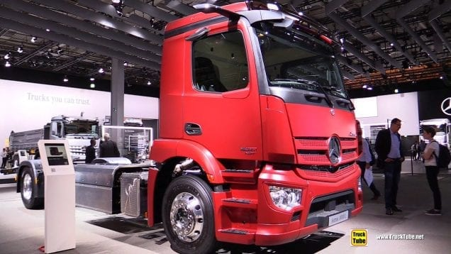 2019 Mercedes Actros 1830 L Natural Gas Truck – Exterior and Interior Walkaround  2019 IAA Hannover