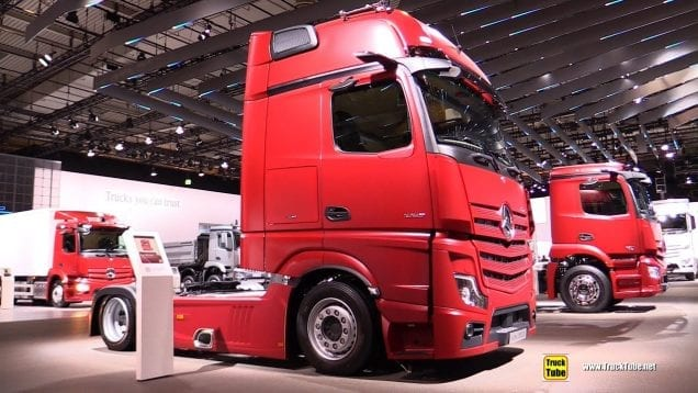 2019 Mercedes Actros 1853 LS Tractor – Exterior and Interior Walkaround – 2019 IAA Hannover