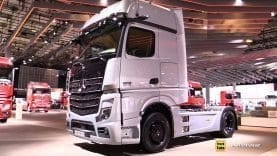 2019 Mercedes Actros 1863 Ls Edition 1 625hp Tractor Exterior And