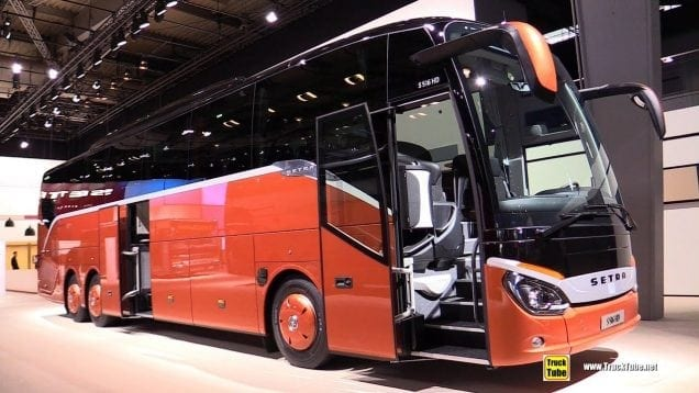 2019 Setra S516 HD 48-Seat Coach – Exterior and Interior Walkaround – 2019 IAA Hannover