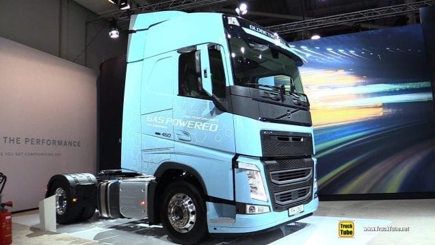 2019 Volvo FH 460 LNG Tractor – Exterior and Interior Walkaround – 2019 IAA Hannover