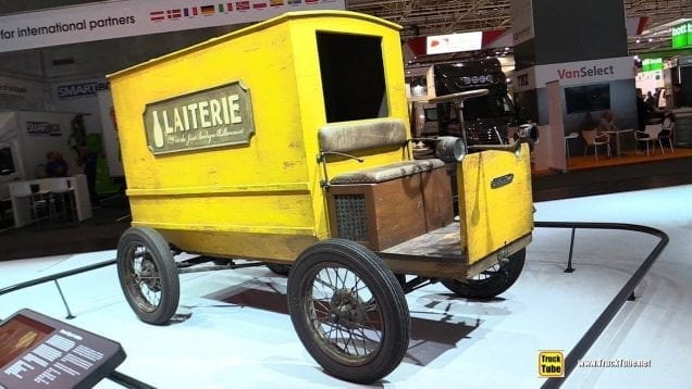 1900 Renault Type C Laitier Delivery Vehicle – Exterior and Interior Walkaround – 2018 IAA Hannover