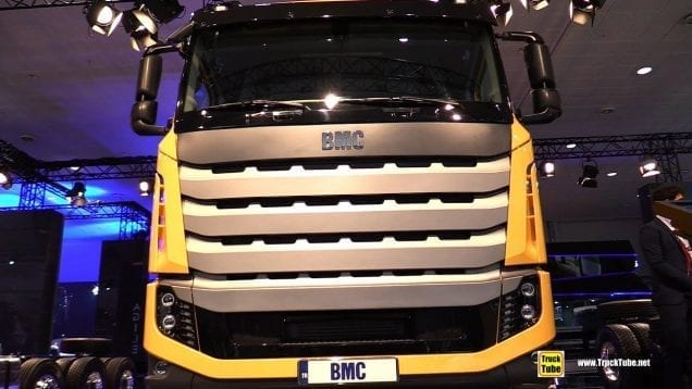 2019 BMC 6×2 Long Haul Truck – Exterior and Interior Walkaround – 2018 IAA Hannover