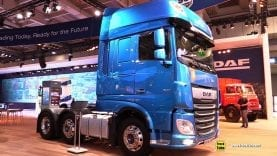 2019 DAF XF 530 FTG 530hp Tractor – Exterior and Interior Walkaround – 2018 IAA Hannover