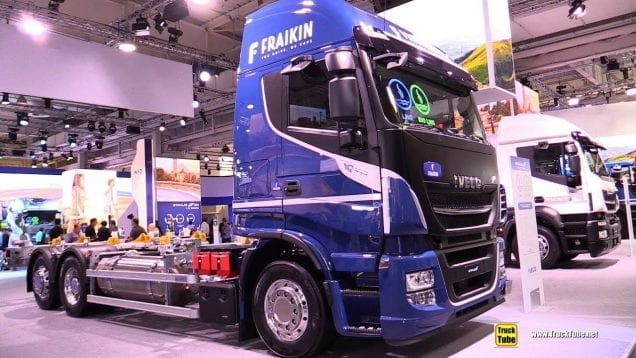 2019 Iveco Stralis 460 Natural Power LNG Tractor – Exterior Interior Walkaround – 2018 IAA Hannover