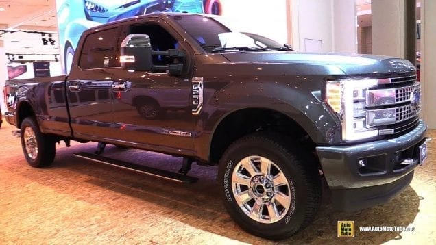 2018 Ford F250 Platinum – Exterior and Interior Walkaround – 2018 New York Auto Show