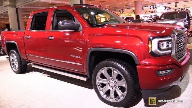 2018 GMC Sierra Denali – Exterior and Interior Walkaround – 2018 New York Auto Show