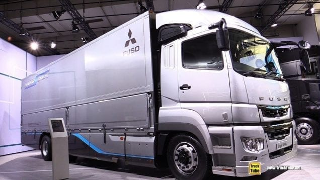 2019 Fuso Super Great FU 6×2 Truck – Walkaround – 2019 IAA Hannover