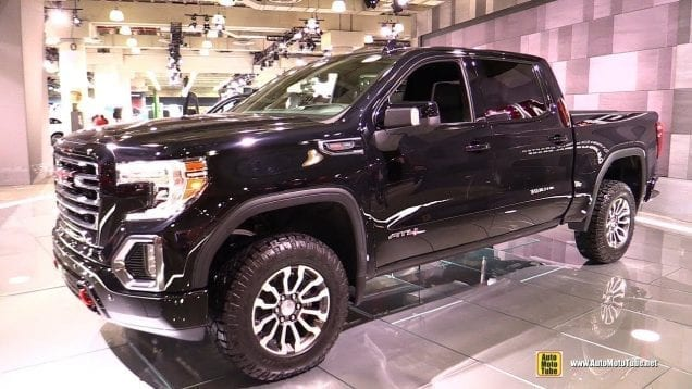2019 GMC Sierra AT4 – Exterior and Interior Walkaround – 2018 New York Auto Show