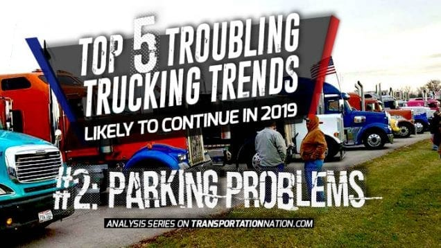 Top 5 Troubling Trucking Trends in 2019 – Number 2
