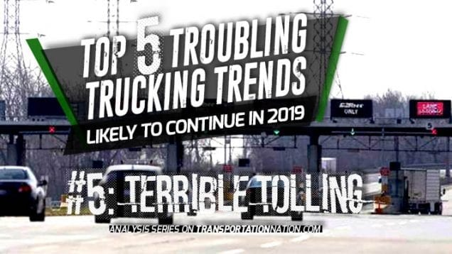 Top 5 Troubling Trucking Trends in 2019 – Number 5