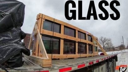 My Trucking Life – A LONG GLASS DAY – #1589