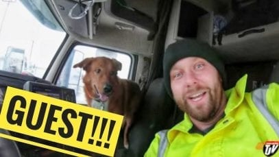 My Trucking Life – A SPECIAL GUEST – #1587