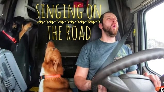 My Trucking Life – SINGING ON THE ROAD – #1588