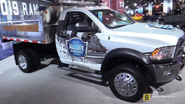 2018 Ram 5500 Chassis Cab – Exterior and Interior Walkaround – 2018 New York Auto Show