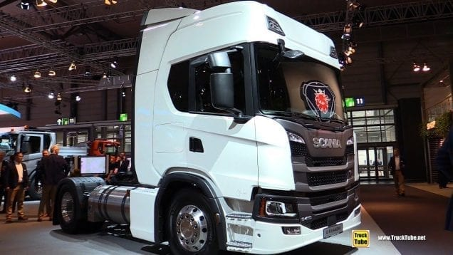 2019 Scania G410 A4x2NA LNG Tractor – Exterior and Interior Walkaround  2019 IAA Hannover