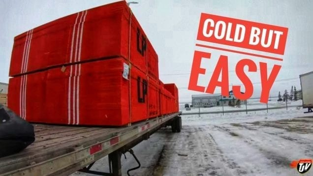 My Trucking Life – COLD, BUT EASY – #1618