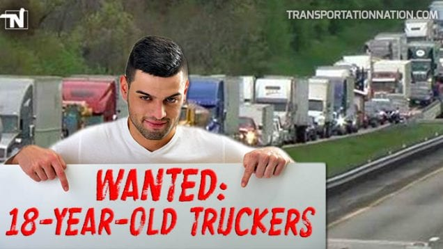 18 Year Old Truckers Wanted