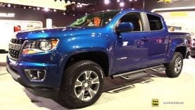 2019 Chevrolet Colorado Z71-  Exterior and Interior Walkaround – 2018 LA Auto Show