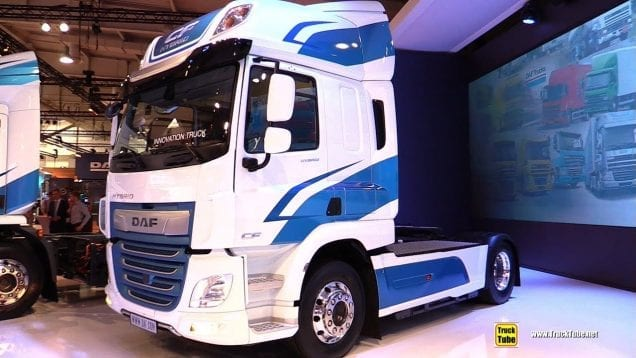 2019 DAF CF Hybrid Tractor – Exterior and Interior Walkaround – 2018 IAA Hannover