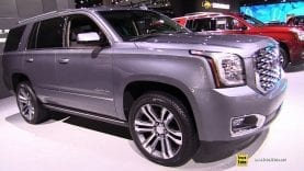 2019 GMC Yukon Denali – Exterior and Interior Walkaround – 2018 LA Auto Show