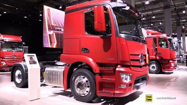 2019 Mercedes Actros 1843 LS Tractor – Exterior and Interior Walkaround – 2019 IAA Hannover