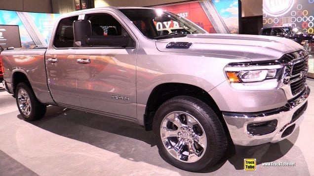 2019 Ram 1500 Big Horn – Exterior and Interior Walkaround – 2018 LA Auto Show