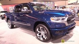 2019 Ram 1500 Limited – Exterior and Interior Walkaround – 2018 LA Auto Show