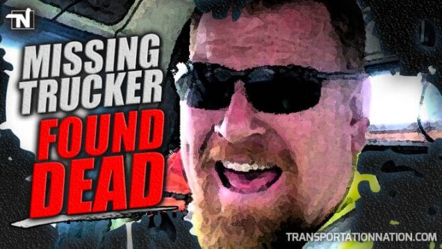Missing Trucker Found Dead