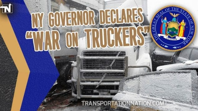 NY Governor Declares War on Truckers