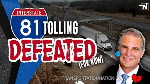 i-81 tolling defeated