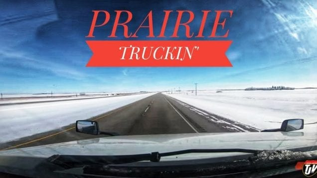 My Trucking Life | COLD PRAIRIES 🚛❄️🇨🇦 | #1640