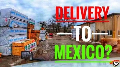 My Trucking Life | DELIVERY TO MEXICO?? 🚛 🎥 🇲🇽 | #1644