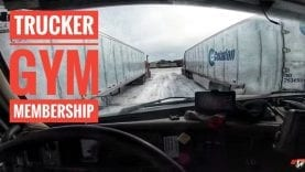 My Trucking Life | GYM MEMBERSHIP | #1643